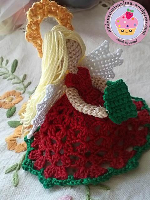 Amigurumi Crochet Navidad : angel crochet Labores de Najma