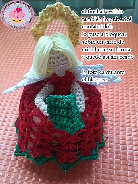 muñeco ganchillo navidad crochet amigurumi doll