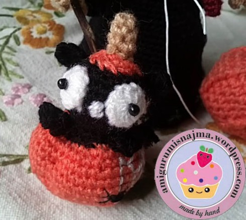 cat amigurumi crochet ganchillo halloween
