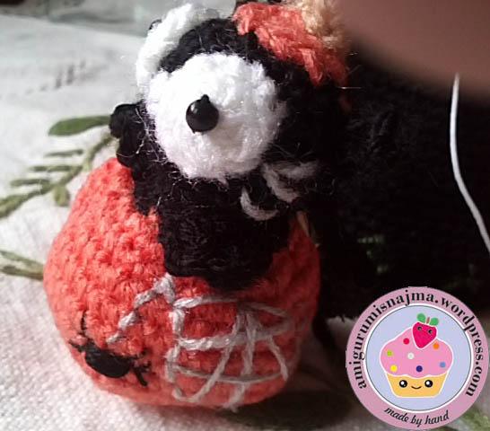 pumpkin cat crochet amigurumi halloween