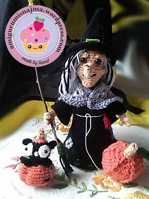 witch amigurumi crochet ganchillo bruja