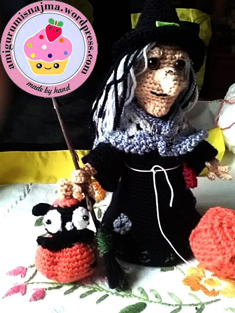 bruja crochet amigurumi witch