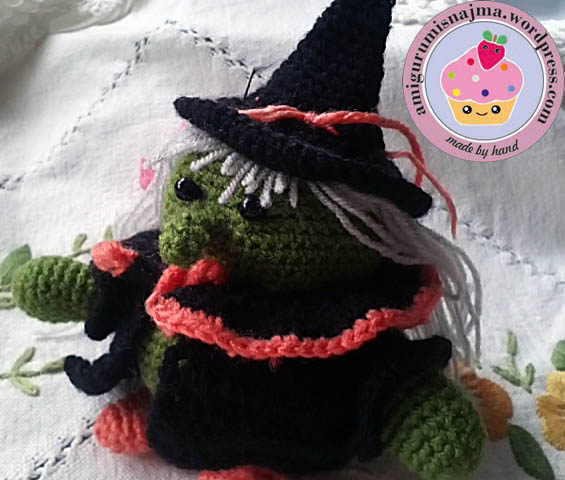 bruja ganchillo fat witch amigurumi