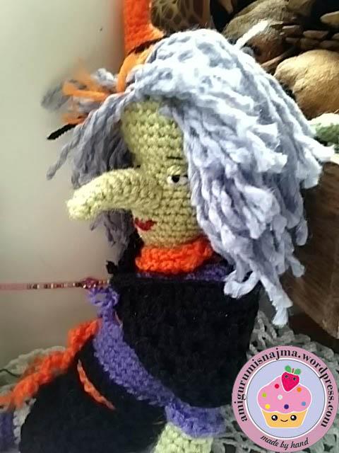 bruja ganchillo crochet doll witch amigurumi