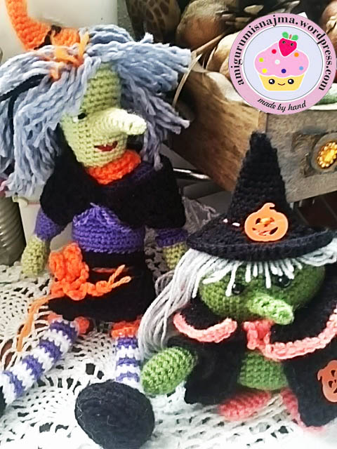 witch crochet doll halloween
