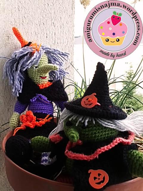amigurumi witch doll crochet