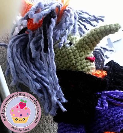 amigurumi doll crochet witch bruja