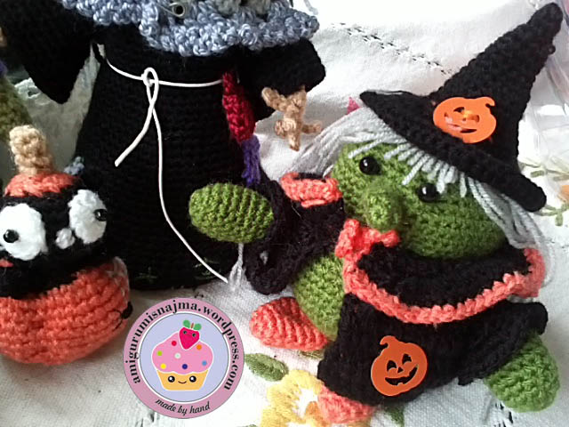 amigurumi doll crochet witch bruja ganchillo