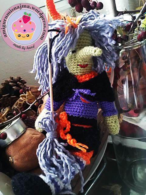 witch doll crochet bruja ganchillo