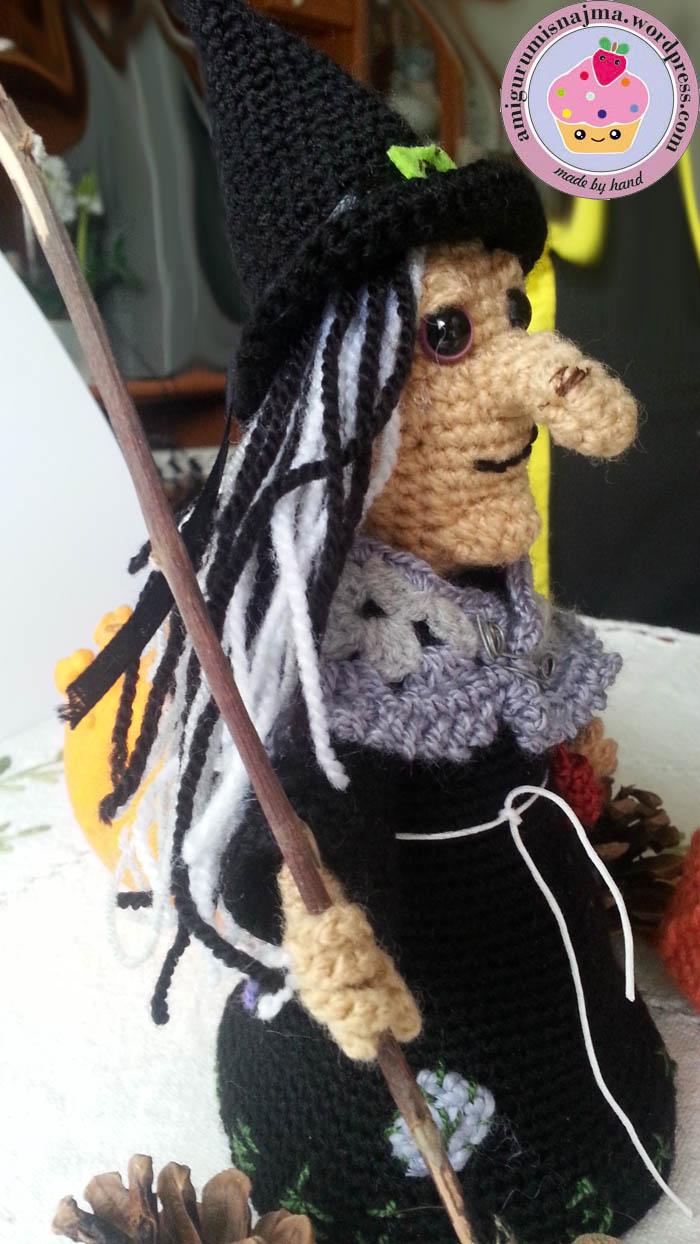 Tutorial Amigurumi Bruja Witch : brujas ganchillo. Isobel Labores de Najma