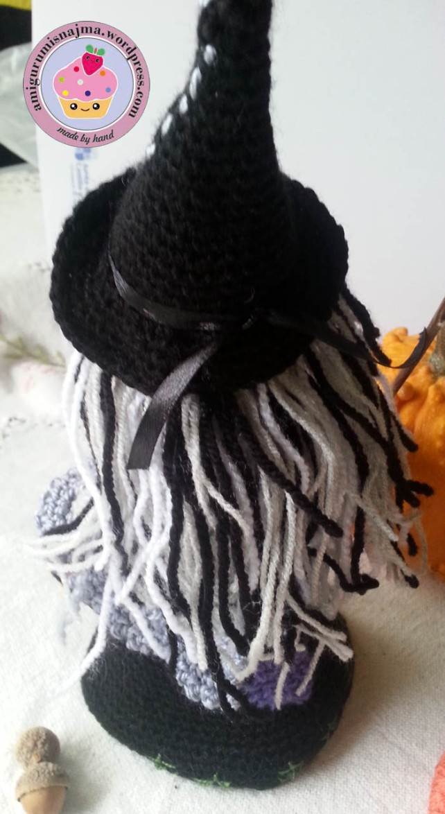 witch amigurumi crochet bruja ganchillo-10