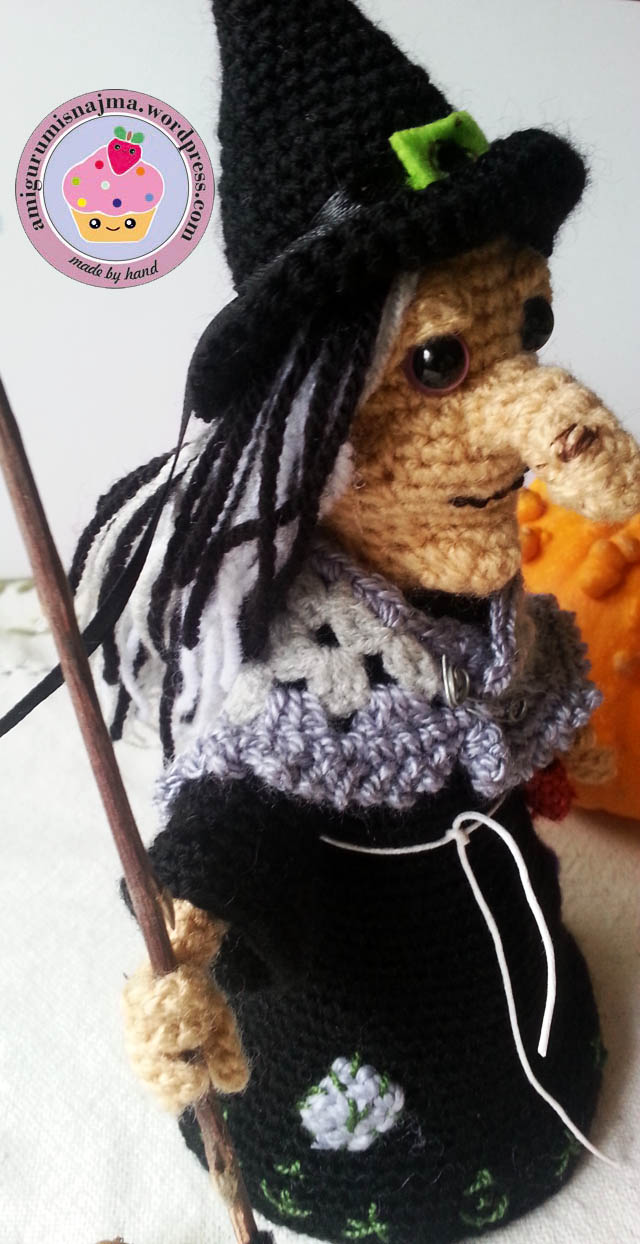 witch amigurumi crochet bruja ganchillo-12