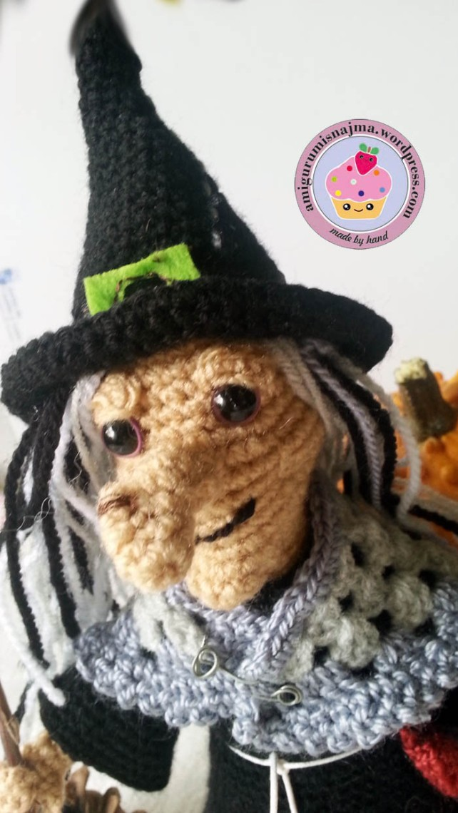 witch amigurumi crochet bruja ganchillo-21