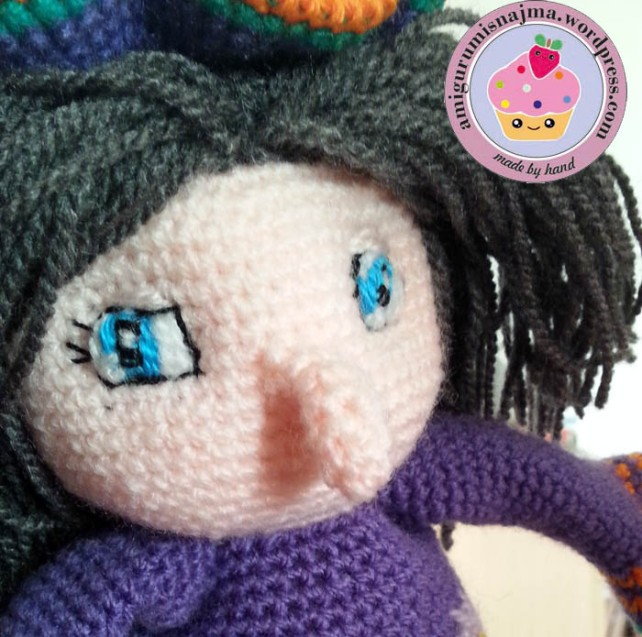 witch doll crochet amigurumi