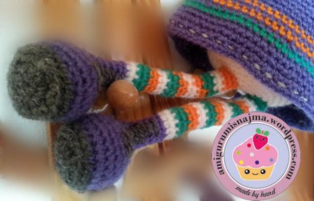 boots witch crochet amigurumi