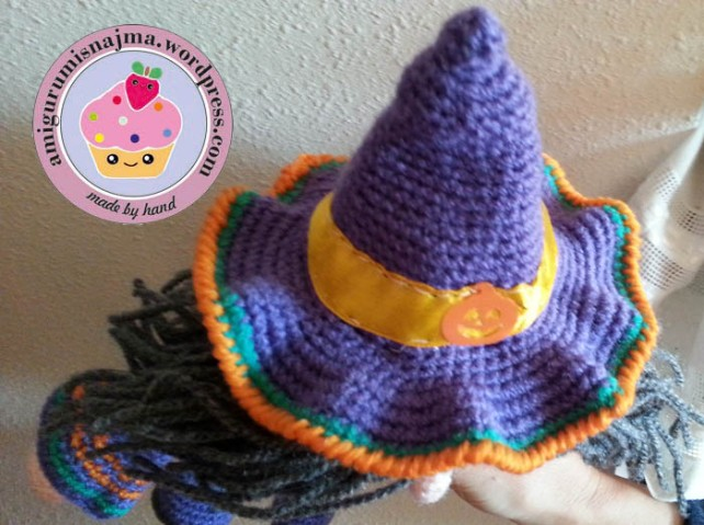 witch hat doll crochet
