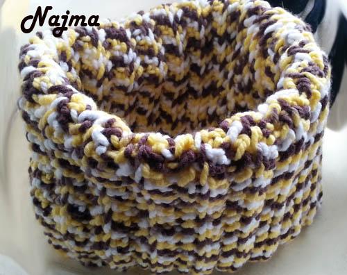 cowl crochet ganchillo cuello