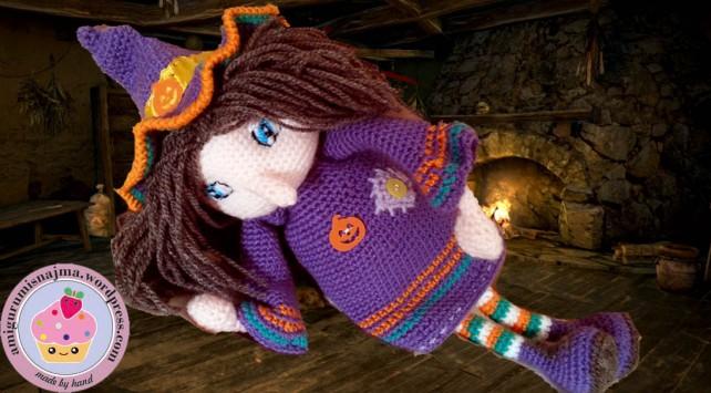 bruja crochet ganchillo