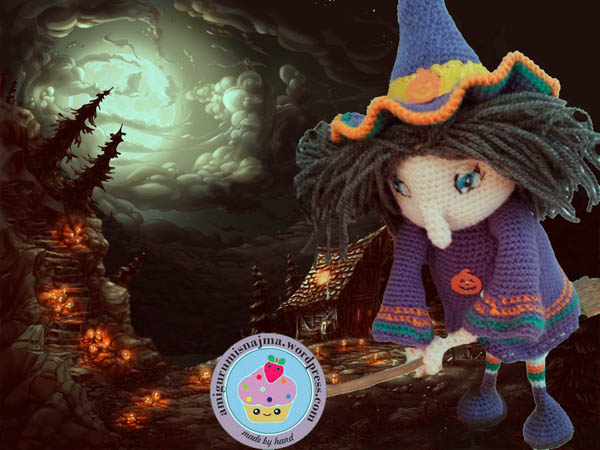 crochet witch ganchillo