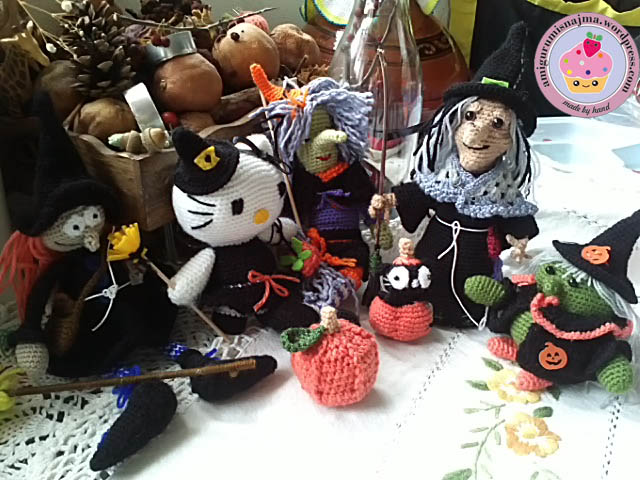 witches toy crochet amigurumi brujas ganchillo