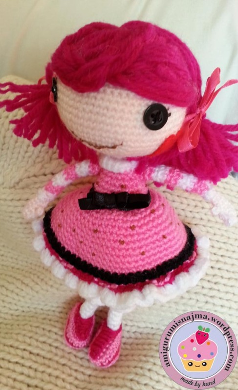 Lalaloopsy Toffee Cocoa Cuddles doll amigurumi-01