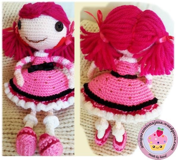 Lalaloopsy Toffee Cocoa Cuddles doll amigurumi-07