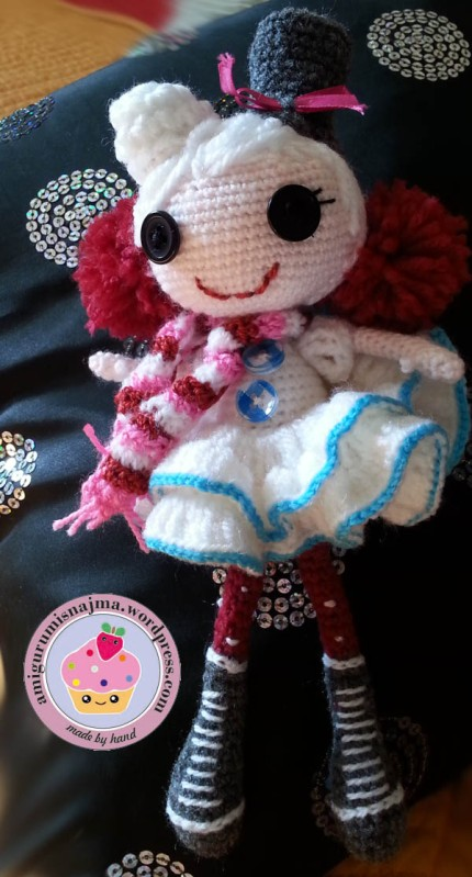 lalaloopsy winter snowflake crochet doll amigurumi-07