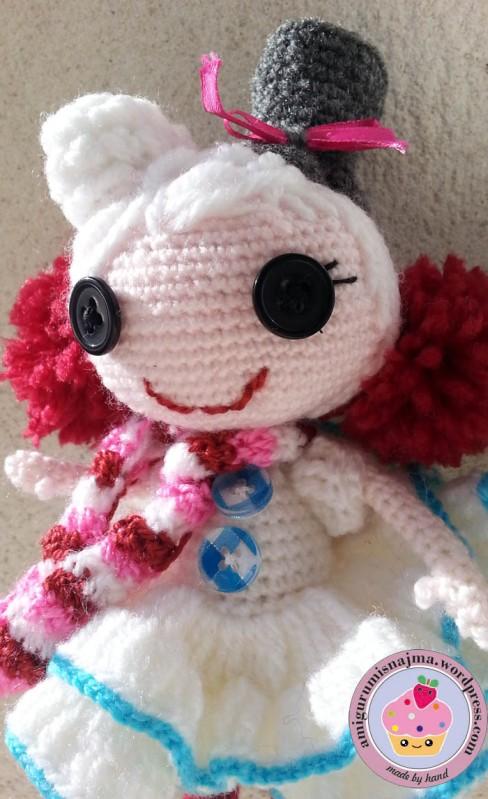 lalaloopsy winter snowflake crochet doll amigurumi-10
