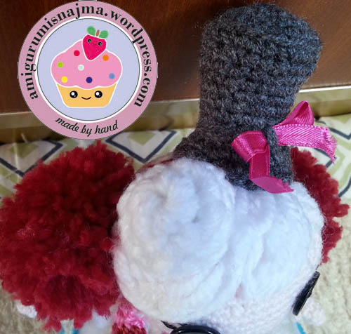 lalaloopsy winter snowflake crochet doll amigurumi-12