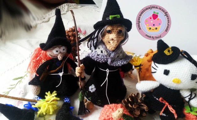 witch amigurumi crochet bruja ganchillo-14