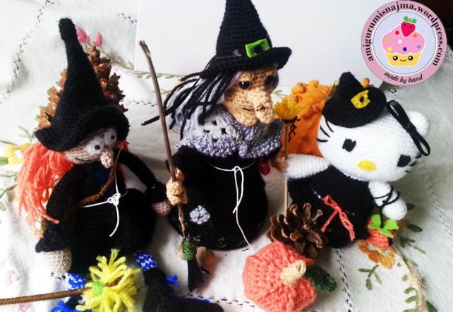 witch amigurumi crochet bruja ganchillo-17