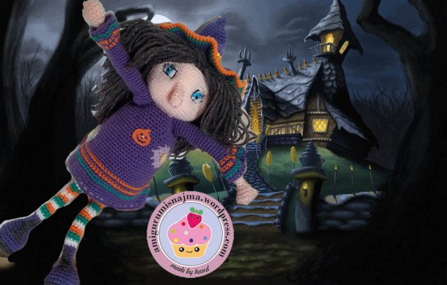 witch amigurumi najma crochet