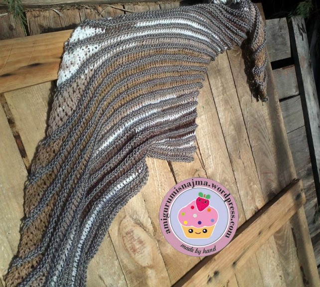 shawl knitted