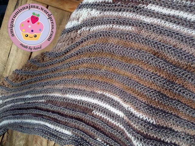 shawl knit chal