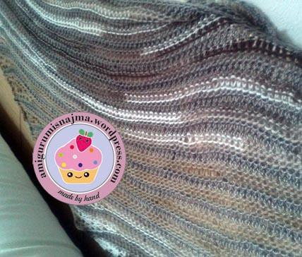 shawlette scarf bufanda chal