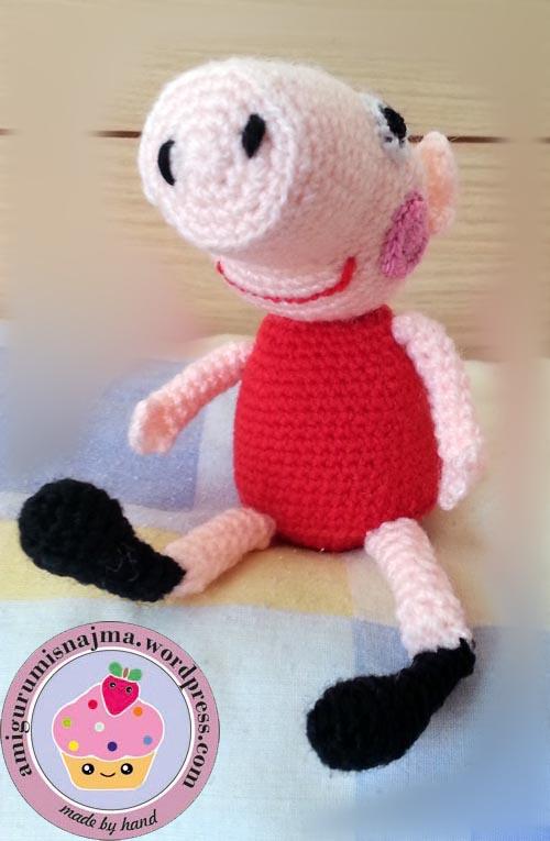 Peppa Pig Amigurumi Crochet : Labores Najma: Peppa pig amigurumi
