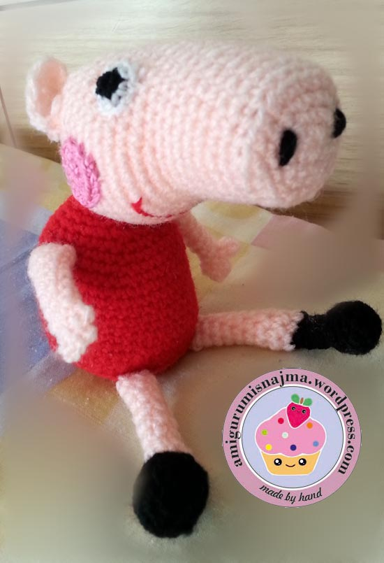 Lanukas: Peppa Pig de Amigurumi   805x550