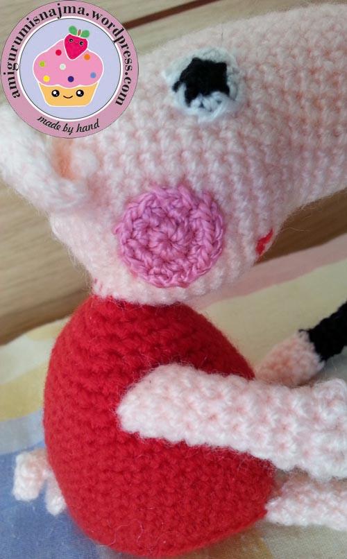 Peppa Pig Amigurumi Crochet : Peppa pig amigurumi Labores de Najma