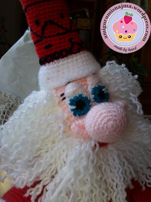 santa claus crochet doll ganchillo najma-05