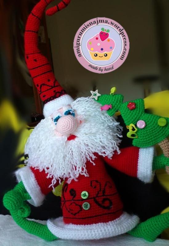 santa claus crochet doll ganchillo najma-13