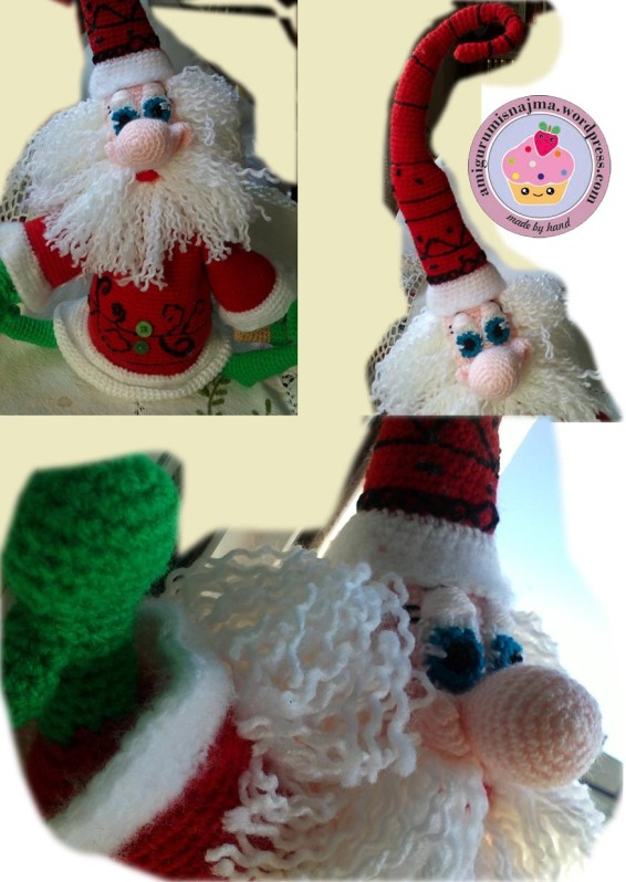 santa claus crochet doll ganchillo najma-21