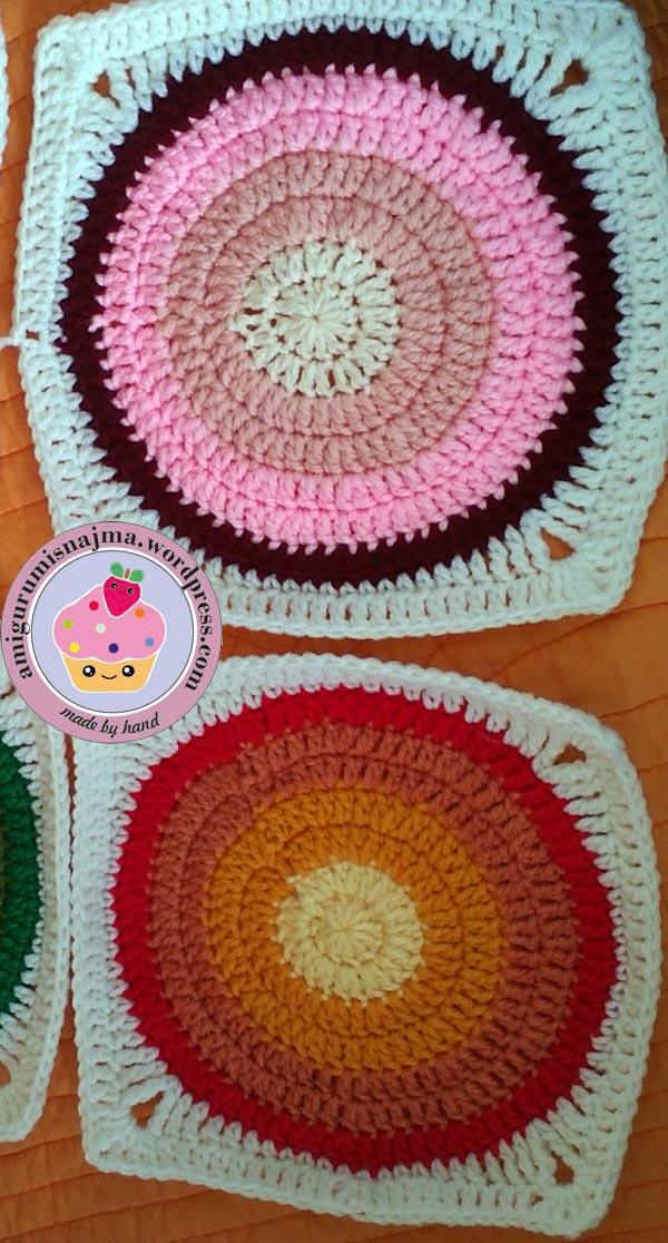 Perfecto Crochet Patrón De Círculo Chai Elaboración - Manta de Tejer ...