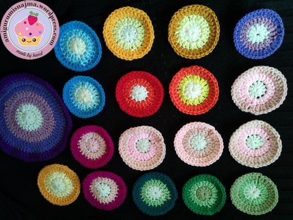 crochet blanket circles