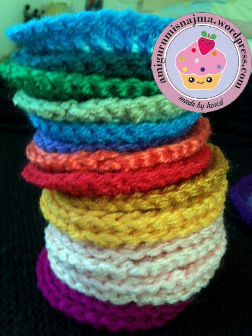 circle crochet square