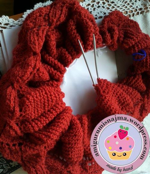 pleiades shawl knitted  najma-01