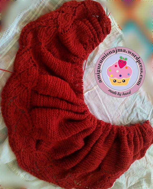 pleiades shawl knitted  najma-02
