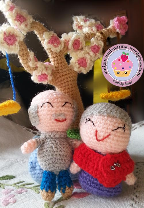 saplanet old couple crochet ganchillo
