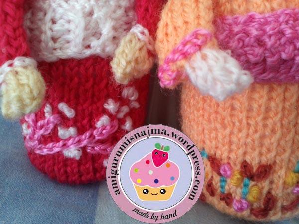 haruko geisha kokeshi  knitted doll najma-09