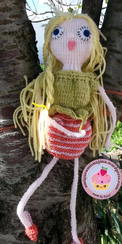 amigurumi knitted doll