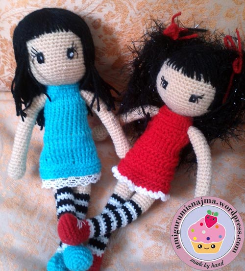 crochet doll gorjuss toy muñeca ganchillo najma10